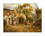 Manx Cottage by Raymond Dearn