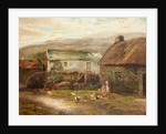 Old Buildings at Ballamenaugh, Sulby, Isle of Man by Raymond Dearn