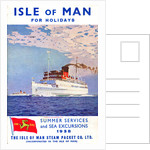 Sailings & Holiday Tours Season 1938 by Isle of Man Steam Packet Co. Ltd.