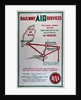Railway Air Services the Manx Airway Section From England to Isle of Man in 40 minutes by Railway Air Services Ltd.