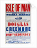 Isle of Man shortest sea passage weekly services Douglas to Greenhoe and Warrenpoint every Wednesday by Thomas P. Ellison