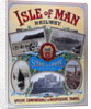 Scenes on the Route of the Isle of Man Railway Speedy Comfortable & Inexpensive Travel by Isle of Man Railway Company