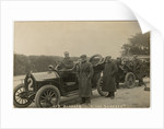 Algernon Lee Guinness in a Darracq, 1907 Tourist Trophy motorcar race by Anonymous