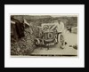 Tom Thornycroft, smash at Kirk Michael, 1907 Tourist Trophy motorcar race by Anonymous