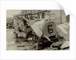 Ariel-Simplex smashed in the 1907 Heavy Touring Motorcar race by Anonymous