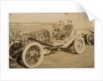 James Reid in a Beeston-Humber, 1908 Tourist Trophy motorcar race by Anonymous