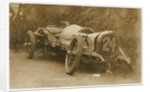 Calthorpe smash at the 1908 Tourist Trophy motorcar race by Anonymous