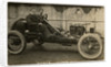A.E. George in a Darracq, 1908 Tourist Trophy motorcar race by Anonymous