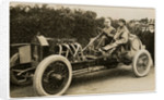 Algernon Lee Guinness in a Darracq, 1908 Tourist Trophy motorcar race by Anonymous