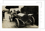 W. Watson in a Napier Hutton,1908 Tourist Trophy motorcar race by Anonymous