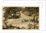 Kenelm Lee Guiness in a Sunbeam, 1914 Tourist Trophy motorcar race by Anonymous