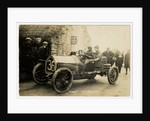 M.L. Molon in a Vinot, 1908 Tourist Trophy motorcar race by Anonymous