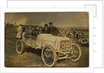 G. Moss in an Arrol-Johnston, 1908 Tourist Trophy motorcar race by Anonymous