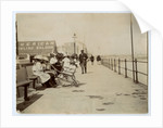 People gathered on Ramsey promenade by Thomas Horsfell Midwood