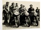 The Junior A.J.S. Team, 1956 Junior TT (Tourist Trophy) by T.M. Badger