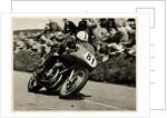 John Surtees, riding as number 81, 1956 TT (Tourist Trophy) by T.M. Badger