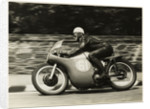 Alistair King, aboard Norton (number 61), 1958 Junior TT (Tourist Trophy) by T. M. Badger
