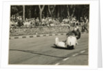 Walter Schneider, driving a BMW sidecar outfit, 1958 Sidecar TT (Tourist Trophy) by T.M. Badger
