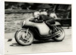 TT (Tourist Trophy) rider number 6 by T.M. Badger