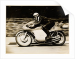 John Surtees, TT (Tourist Trophy) rider riding as number 62 by T.M. Badger