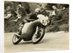 Dave Chadwick, TT (Tourist Trophy) rider riding as number 31 by T.M. Badger