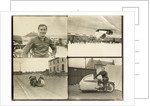 TT (Tourist Trophy) sidecar at Birchleigh Terrace, Onchan by T.M. Badger