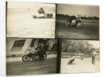 TT (Tourist Trophy) riders at Quarterbridge by T.M. Badger