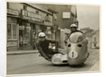 Wilhelm Noll and Fritz Cron, 1955 Sidecar TT (Tourist Trophy) by T.M. Badger