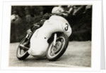 Mike Hailwood, TT (Tourist Trophy) rider, riding as a privateer in Ecurie Sportive colours by T.M. Badger