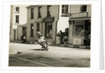 Jack Wood, TT (Tourist Trophy) rider on machine number 26 by T.M. Badger