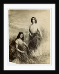 The Gleaners modelled by sisters Elsie and Glen Smith by George Bellett Cowen