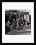 Lifeboat crew and launch by Manx Press Pictures
