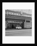 Mini Minor car at the Regal Cinema, Douglas by Manx Press Pictures