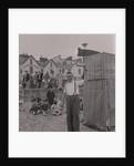 Punch and Judy on Douglas beach by Manx Press Pictures