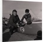 Norman Hanks and Rose Arnold, 750 cc TT sidecar (2nd place) by Manx Press Pictures