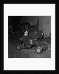 Mr Magee on go-kart, Isle of Man by Manx Press Pictures