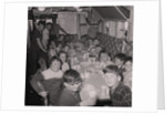 Children on H.M.S. Manxman by Manx Press Pictures