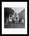 Homemade caravan by Manx Press Pictures