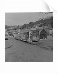 Silver Manx Electric Railway tram by Manx Press Pictures