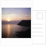 Bradda sunset by Manx Press Pictures