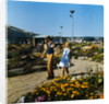 Holidaymakers in sunken gardens, Douglas Promenade by Manx Press Pictures