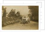 D. Resta in an Arrol-Johnston, 1908 Tourist Trophy motorcar race by Anonymous