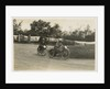 Two riders rounding Ramsey Hairpin, TT (Tourist Trophy) by Thomas Horsfell Midwood