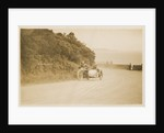 R. Weatherell aboard sidecar outfit number 58, 1920s Sidecar TT (Tourist Trophy) by Thomas Horsfell Midwood
