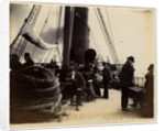 Passengers onboard an unnamed steamer by W. H. Tomkinson