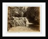 Glen Maye waterfall by W. H. Tomkinson