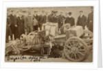 W.T. Clifford Earp, crash at 1904 Gordon Bennett Trials by Anonymous
