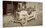 T.C. Pullinger in a Beeston Humber, 1907 Tourist Trophy motorcar race by Anonymous