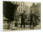 Men gutting fish on North Quay, Douglas by Anonymous
