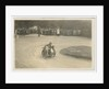 F.W. Dixon aboard sidecar outfit number 55, 1923 TT (Tourist Trophy) by Thomas Horsfell Midwood